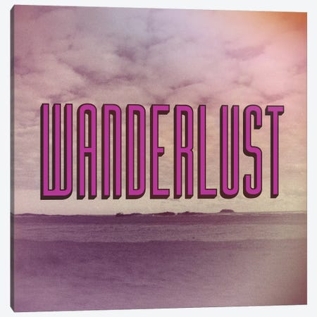 Wanderlust Canvas Print #GES48} by Galaxy Eyes Canvas Wall Art