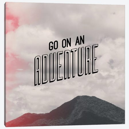 Adventure Canvas Print #GES49} by Galaxy Eyes Canvas Art