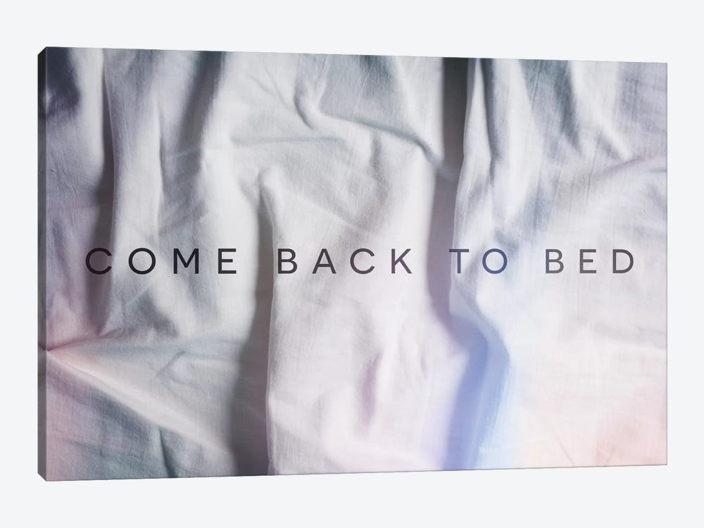 Back to Bed by Galaxy Eyes 1-piece Art Print