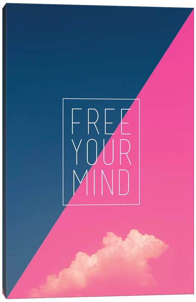 Free Your Mind Canvas Print #GES52