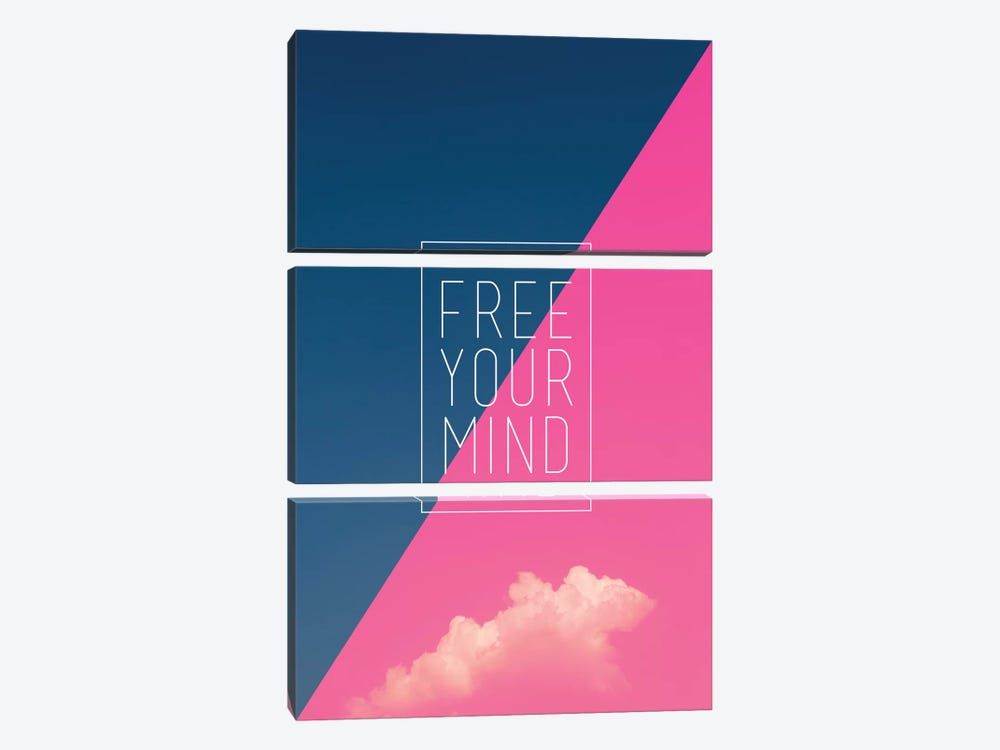 Free Your Mind by Galaxy Eyes 3-piece Art Print