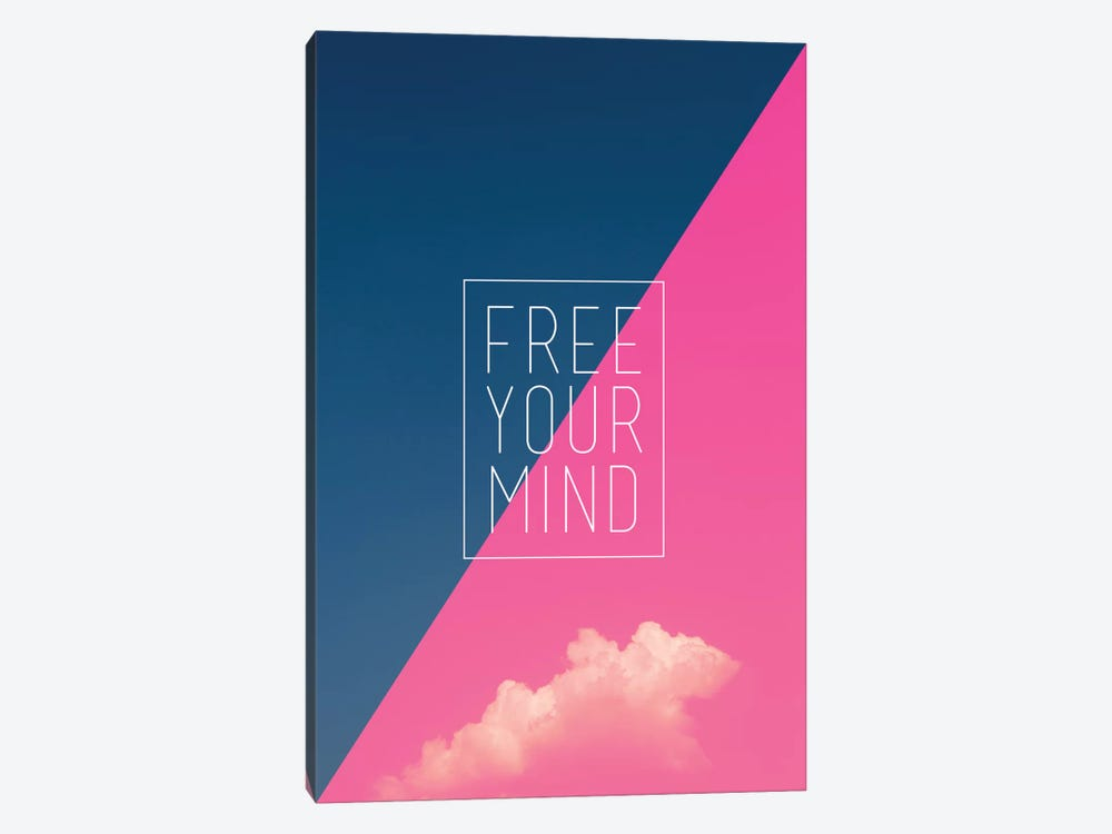 Free Your Mind by Galaxy Eyes 1-piece Canvas Art Print