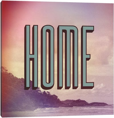 Home Canvas Art Print