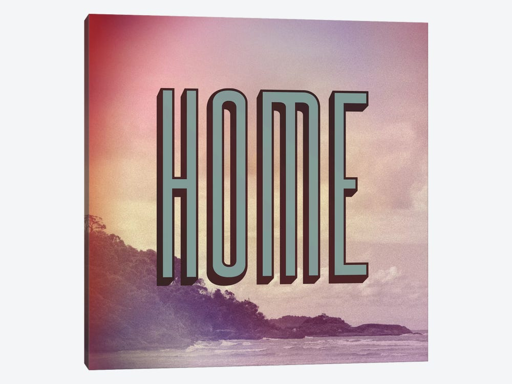 Home by Galaxy Eyes 1-piece Canvas Art