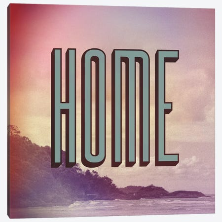 Home Canvas Print #GES53} by Galaxy Eyes Canvas Art Print