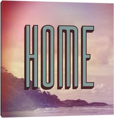 Home Canvas Art Print