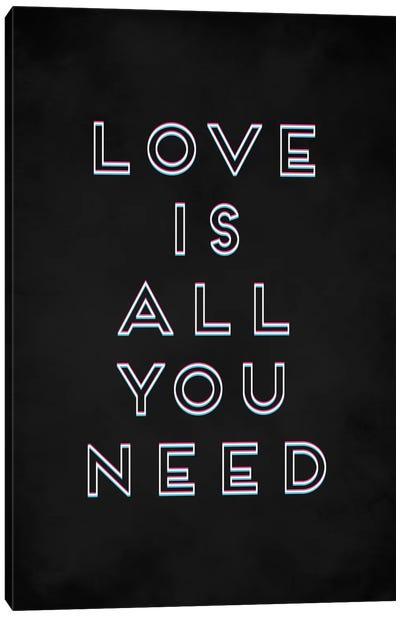 Love I Canvas Art Print