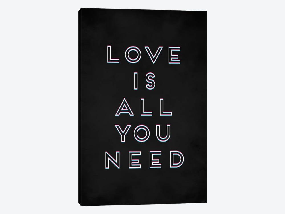 Love I by Galaxy Eyes 1-piece Canvas Print