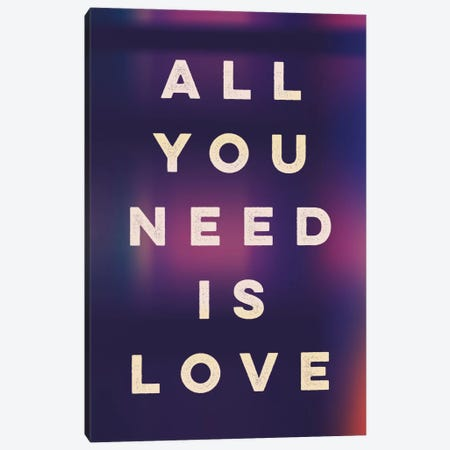 Love II Canvas Print #GES55} by Galaxy Eyes Canvas Wall Art