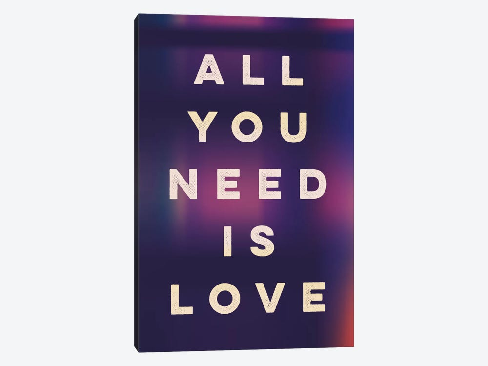 Love II by Galaxy Eyes 1-piece Canvas Artwork