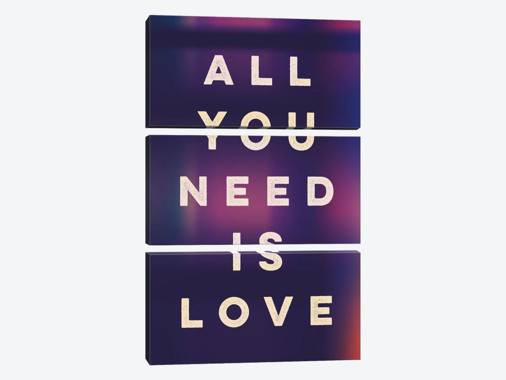 Love II by Galaxy Eyes 3-piece Canvas Wall Art