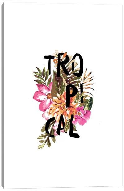 Tropical III Canvas Art Print