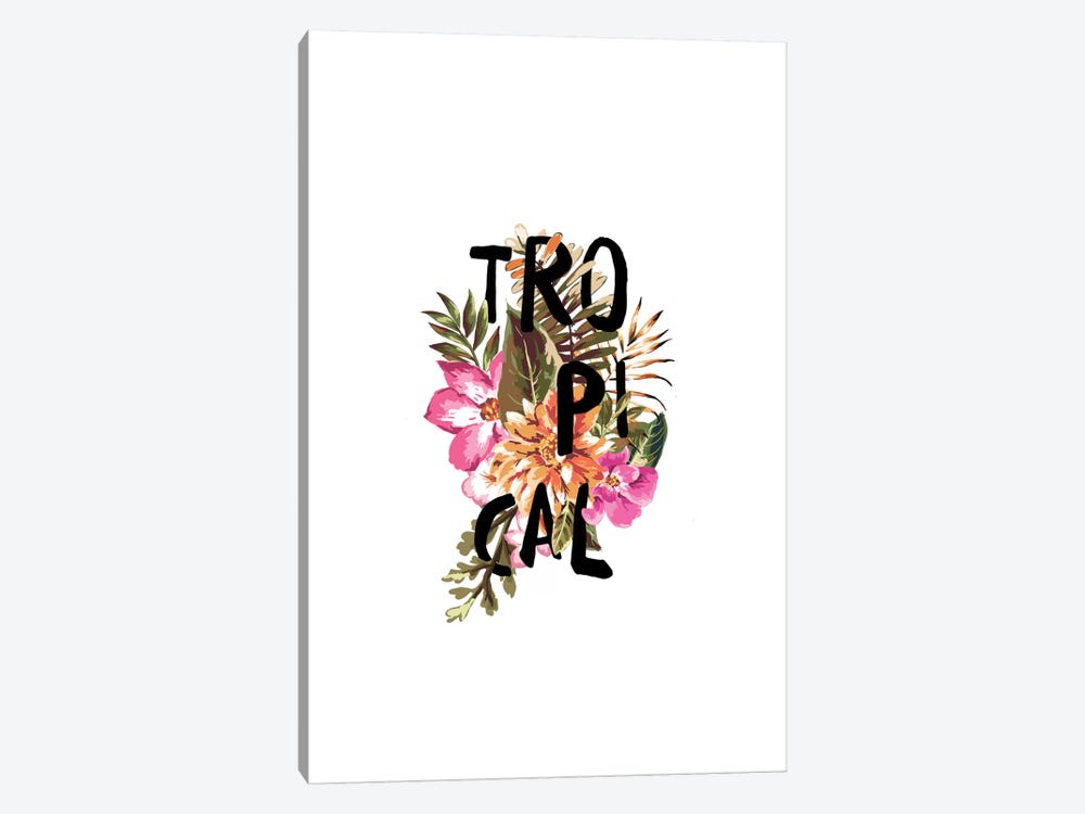 Tropical III by Galaxy Eyes 1-piece Art Print