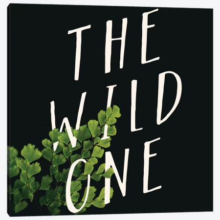 Wild One Canvas Print #GES59} by Galaxy Eyes Canvas Art Print