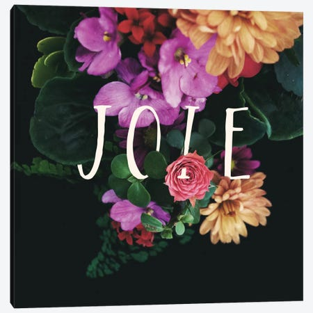 Joie Canvas Print #GES60} by Galaxy Eyes Canvas Wall Art