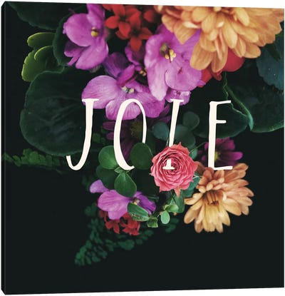 Joie Canvas Art Print