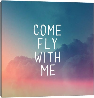 Come Fly Canvas Print #GES61