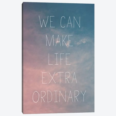 Extraordinary Canvas Print #GES63} by Galaxy Eyes Canvas Wall Art