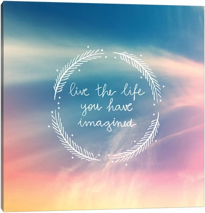 Life Imagined Canvas Print #GES65