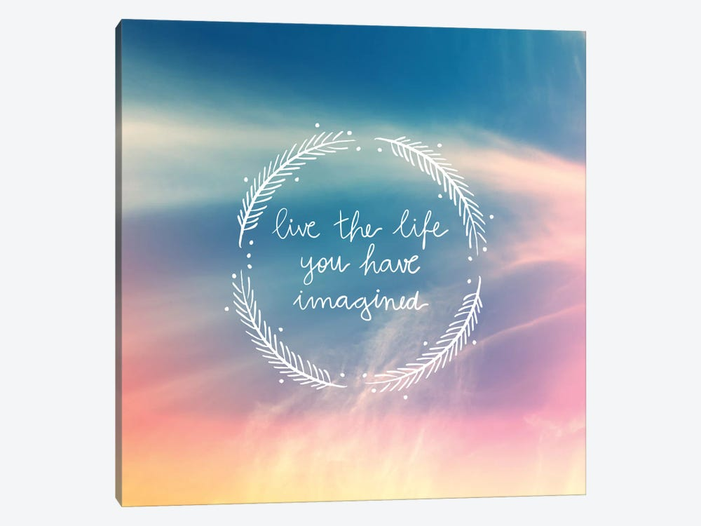 Life Imagined by Galaxy Eyes 1-piece Canvas Art Print