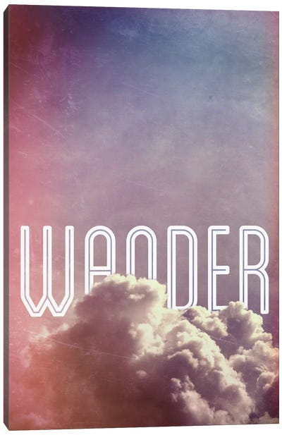Wander Canvas Print #GES67