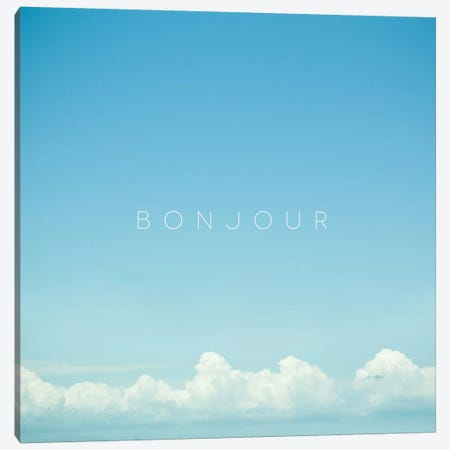 Bonjour I Canvas Print #GES70} by Galaxy Eyes Canvas Print