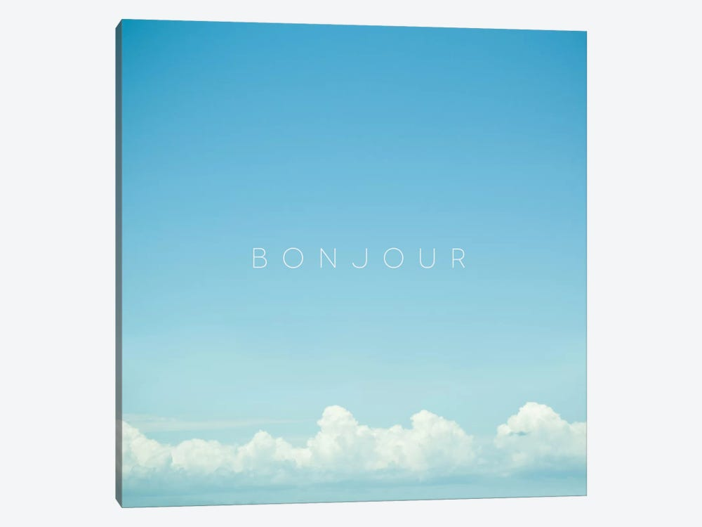 Bonjour I by Galaxy Eyes 1-piece Canvas Print