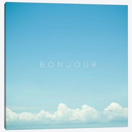 Bonjour I Canvas Print #GES70} by Galaxy Eyes Canvas Print