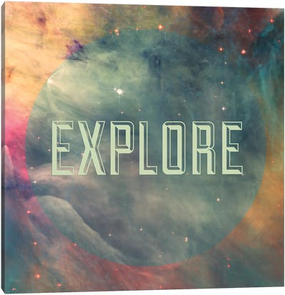 Explore I Canvas Art Print
