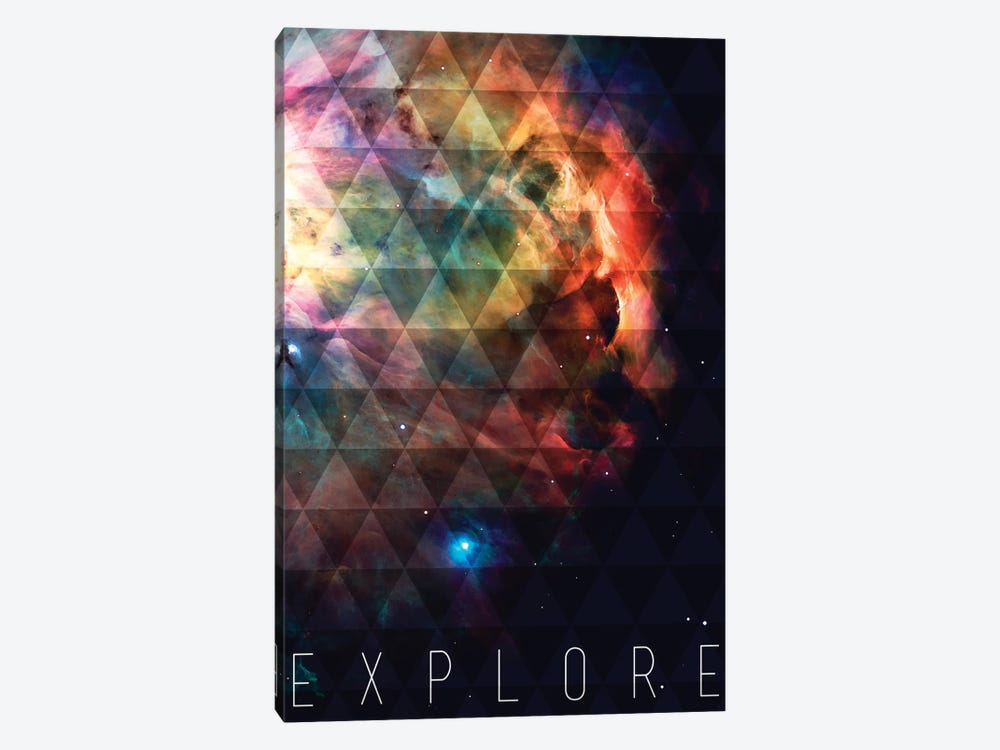 Explore II by Galaxy Eyes 1-piece Canvas Art Print