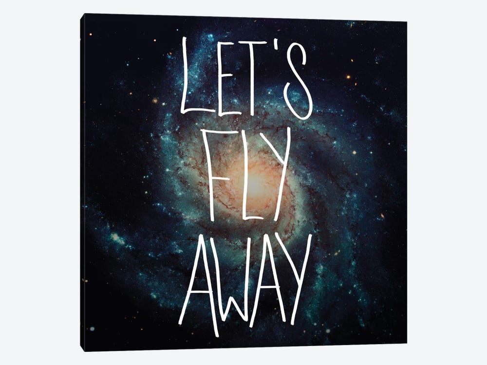 Fly Away by Galaxy Eyes 1-piece Canvas Wall Art