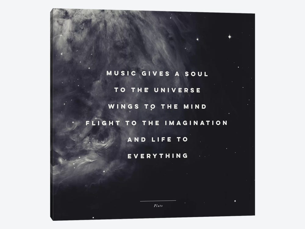 Music I by Galaxy Eyes 1-piece Art Print