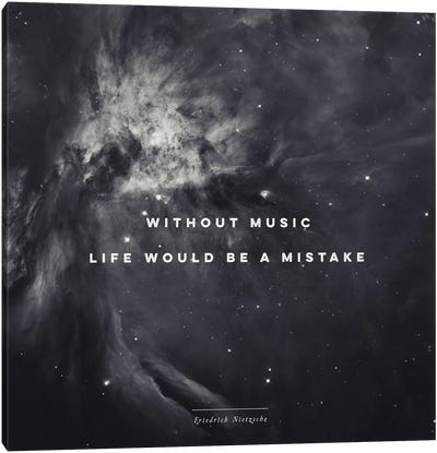 Music II Canvas Print #GES75