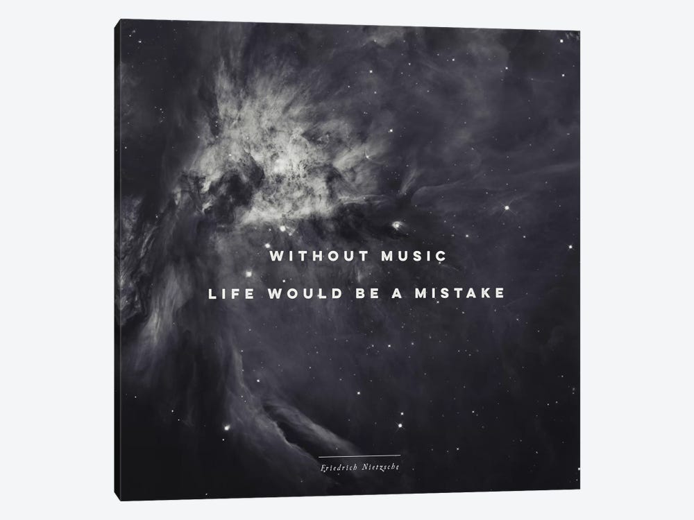 Music II by Galaxy Eyes 1-piece Canvas Wall Art