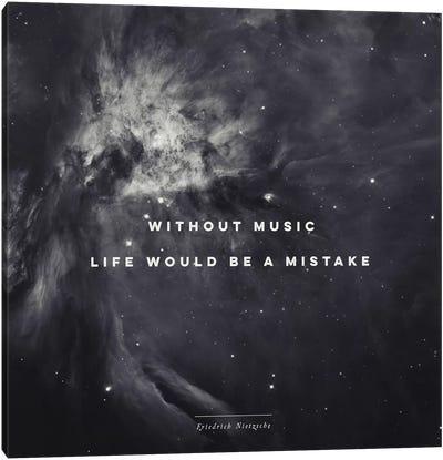 Music II Canvas Art Print