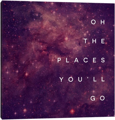 Place You Will Go I Canvas Print #GES77