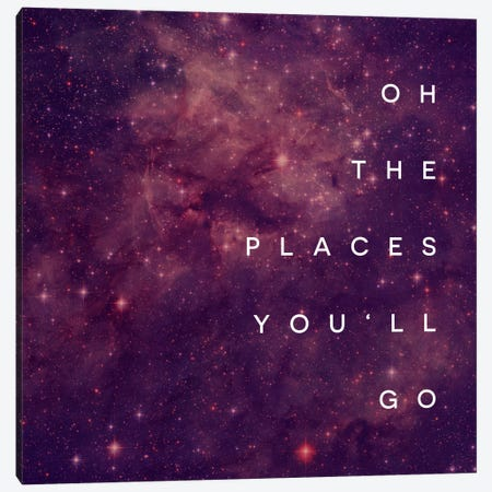 Place You Will Go I Canvas Print #GES77} by Galaxy Eyes Canvas Wall Art