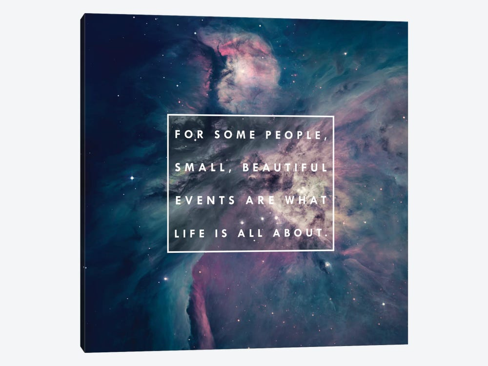 About Life by Galaxy Eyes 1-piece Canvas Art Print