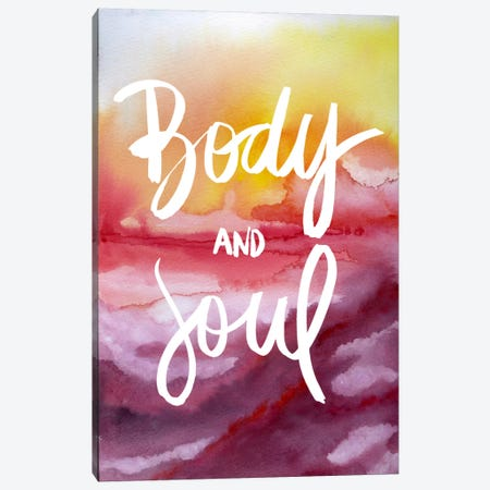 Body & Soul Canvas Print #GES79} by Galaxy Eyes Canvas Art Print