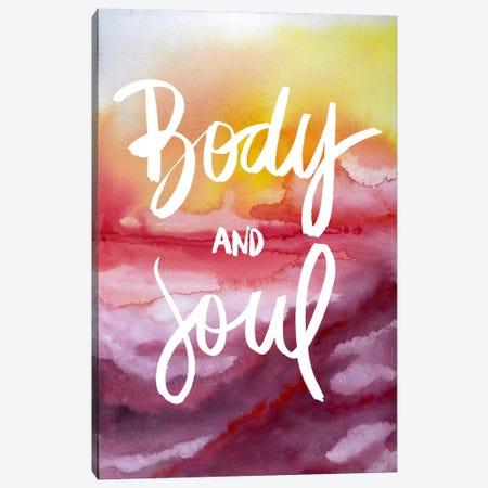 Body & Soul Canvas Print #GES79} by Galaxy Eyes Canvas Art Print