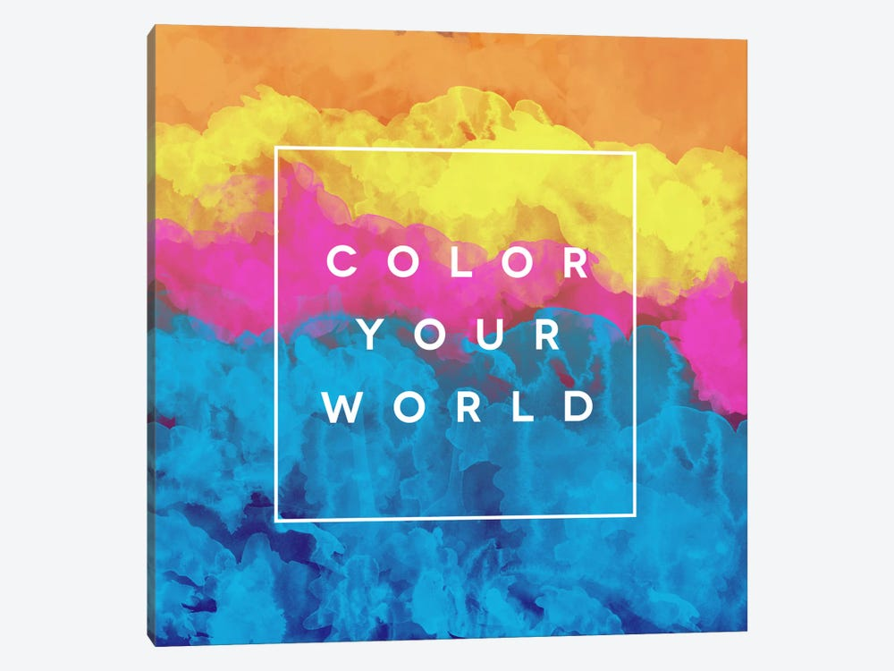 Color World by Galaxy Eyes 1-piece Canvas Art Print