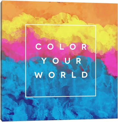 Color World Canvas Art Print