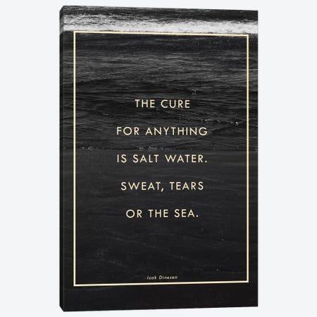 Salt Water Canvas Print #GES94} by Galaxy Eyes Canvas Wall Art