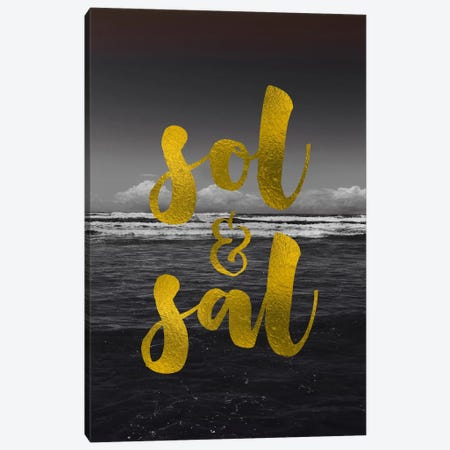 Sol & Sal Canvas Print #GES95} by Galaxy Eyes Canvas Wall Art