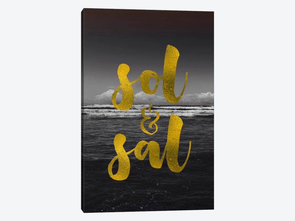 Sol & Sal by Galaxy Eyes 1-piece Canvas Artwork