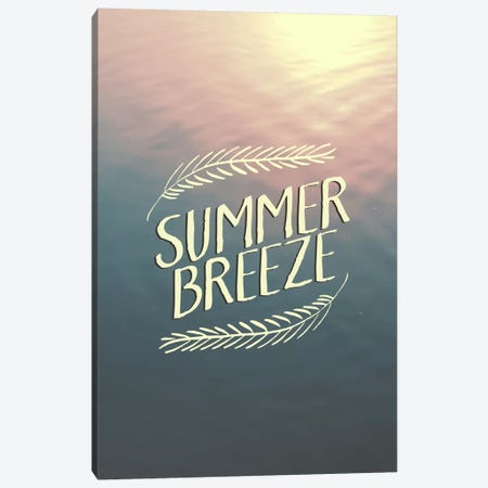 Summer Breeze Canvas Print #GES97} by Galaxy Eyes Canvas Art