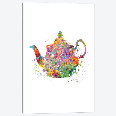 Teapot Canvas Print #GFA128} by Genefy Art Art Print