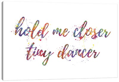 Tiny Dancer Canvas Art Print