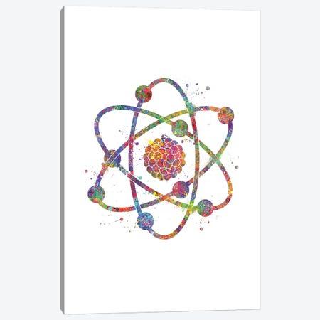 Atom 3-Piece Canvas #GFA1} by Genefy Art Art Print