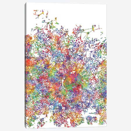 Embryonic Stem Cells Canvas Print #GFA47} by Genefy Art Canvas Art Print